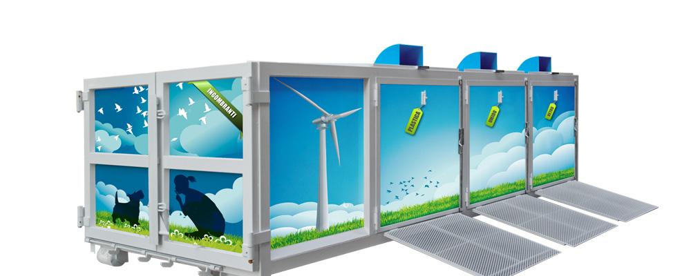 containers per stazione ecologica